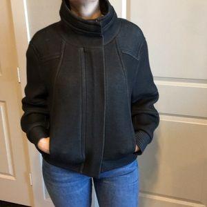 Helmut Lang orb funnel neck jacket